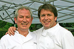 James Martin with Peter Stuart