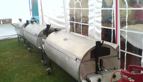 Festival lamb roast machines